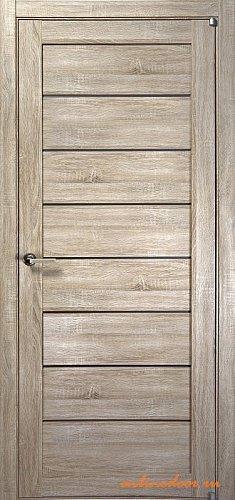 Межкомнатная дверь Uberture Light 2125 серый велюр